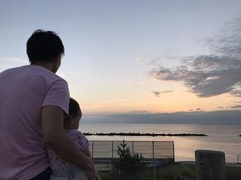 2017王子夏夕日