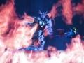 ウルトラ戦士を圧倒するキングギャラクトロン