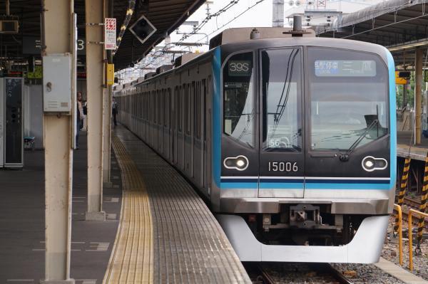 2017-07-16 メトロ15106F 各駅停車三鷹行き