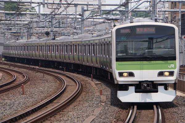 2017-07-16 山手線E231系トウ502編成 東京・品川方面行き