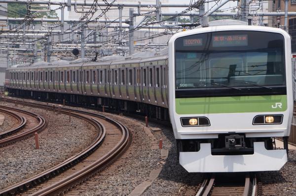 2017-07-16 山手線E231系トウ506編成 東京・品川方面行き