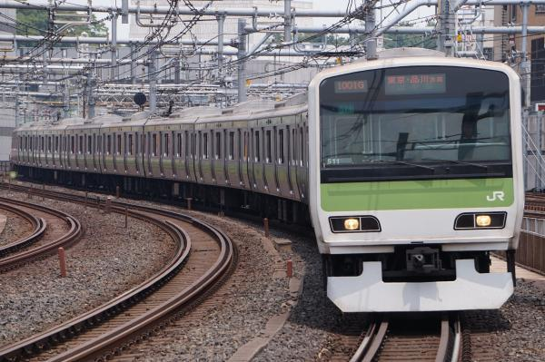 2017-07-16 山手線E231系トウ511編成 東京・品川方面行き