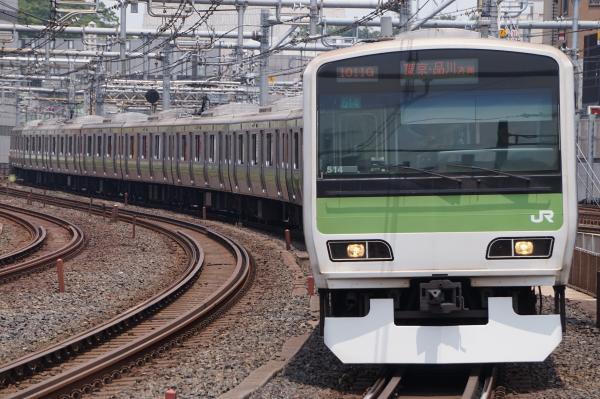 2017-07-16 山手線E231系トウ514編成 東京・品川方面行き