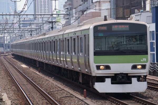 2017-07-16 山手線E231系トウ515編成 上野・池袋方面行き