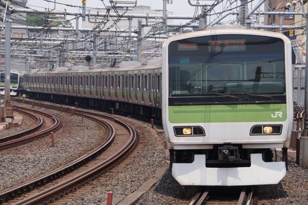 2017-07-16 山手線E231系トウ519編成 東京・品川方面行き