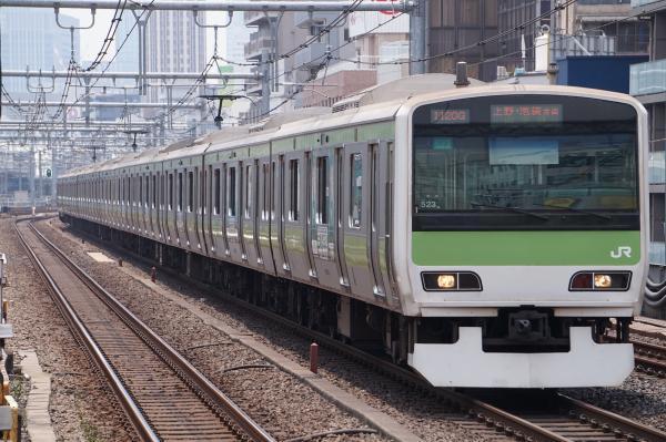 2017-07-16 山手線E231系トウ523編成 上野・池袋方面行き
