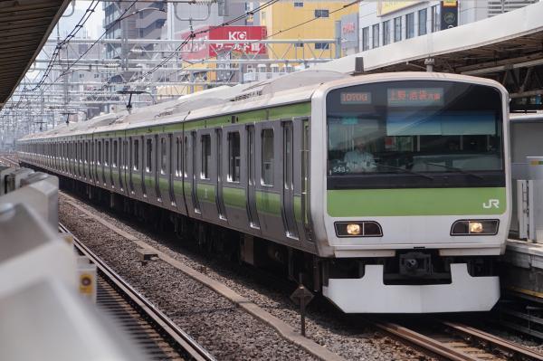 2017-07-16 山手線E231系トウ543編成 上野・池袋方面行き
