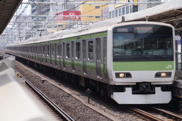 2017-07-16 山手線E231系トウ544編成 上野・池袋方面行き