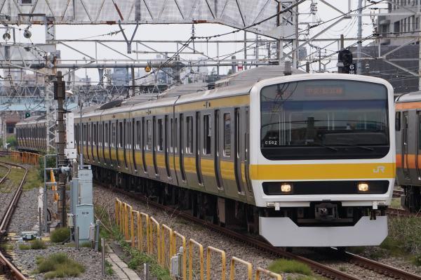 2017-07-16 総武線209系ミツC502編成 津田沼行き