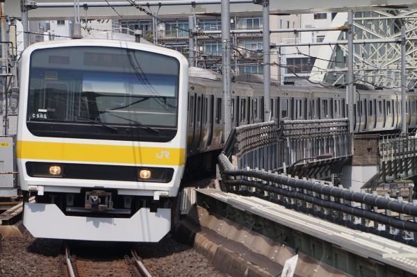 2017-07-16 総武線209系ミツC505編成 津田沼行き