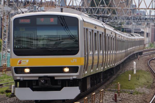 2017-07-16 総武線E231系ミツB7編成 千葉行き