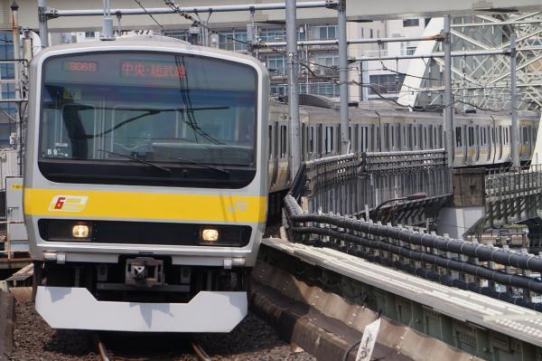 2017-07-16 総武線E231系ミツB9編成 千葉行き1