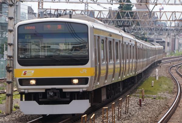 2017-07-16 総武線E231系ミツB9編成 千葉行き2