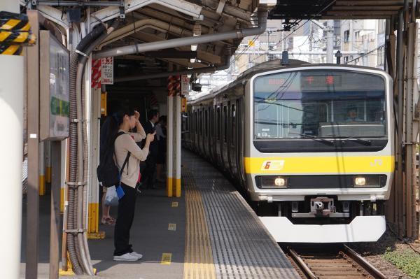 2017-07-16 総武線E231系ミツB10編成 千葉行き