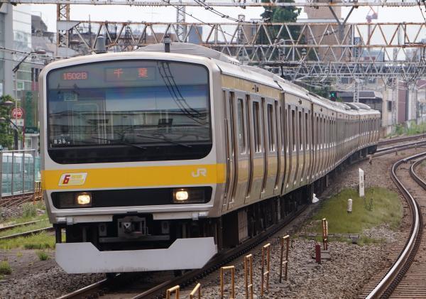 2017-07-16 総武線E231系ミツB29編成 千葉行き