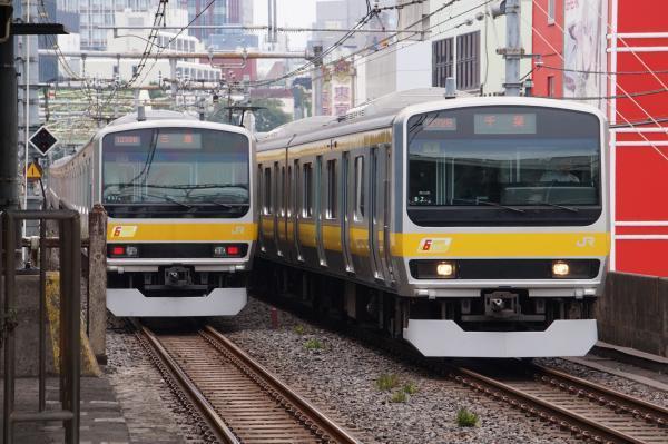 2017-07-16 総武線E231系ミツB57編成 ミツB7編成