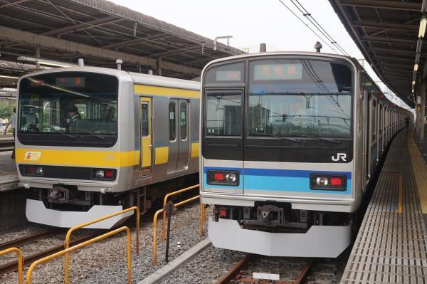 2017-07-16 総武線E231系ミツB81編成 ミツK5編成