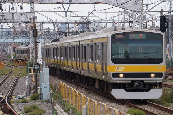 2017-07-16 総武線E231系ミツB81編成 千葉行き
