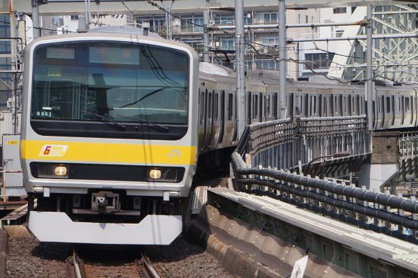 2017-07-16 総武線E231系ミツB901編成 千葉行き