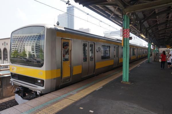 2017-07-16 総武線E231系ミツB901編成 側面