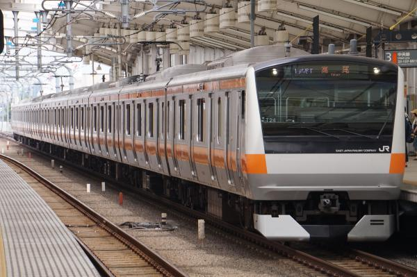 2017-07-16 中央線E233系トタT24編成 高尾行き