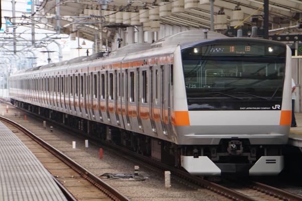 2017-07-16 中央線E233系トタT25編成 豊田行き