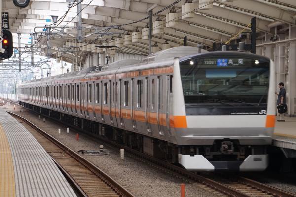 2017-07-16 中央線E233系トタT40編成 中央特快高尾行き