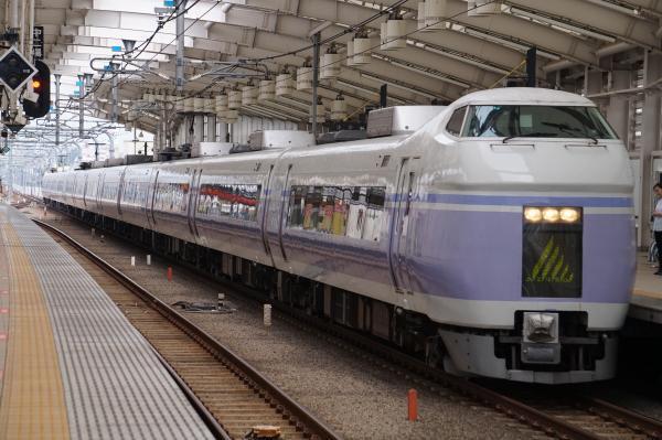 2017-07-16 中央線特急E351系モトS4編成 スーパーあずさ号松本行き