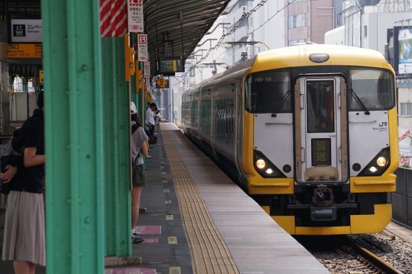 2017-07-16 房総特急E257系マリNB-19編成 回送