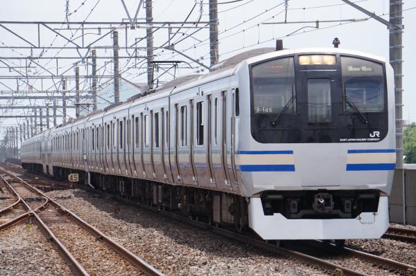 2017-07-29 総武快速E217系クラY-145編成 東京行き
