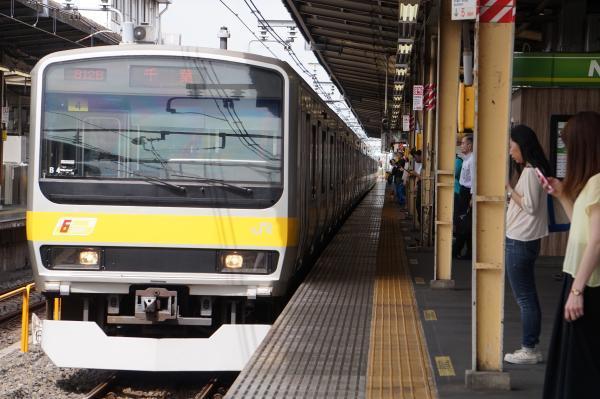 2017-07-29 総武線E231系ミツB4編成 千葉行き