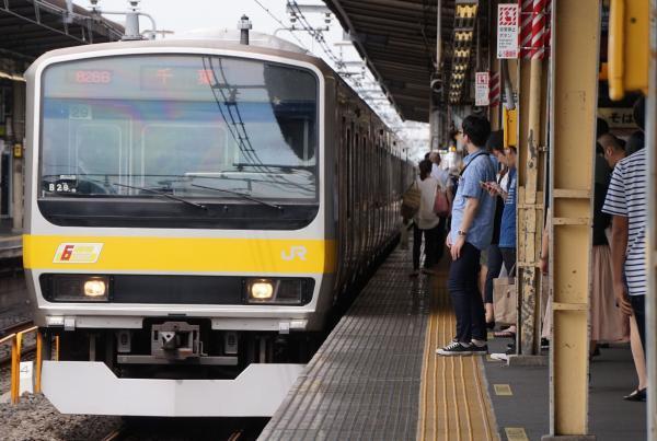 2017-07-29 総武線E231系ミツB29編成 千葉行き
