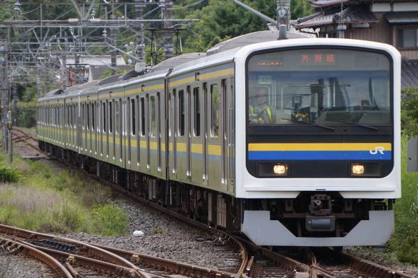 2017-07-29 房総地区209系マリC403編成 千葉行き
