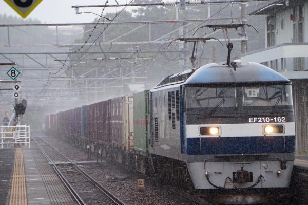 2017-08-07 EF210-162牽引 貨物列車