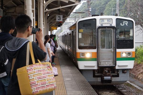 2017-08-07 静岡地区211系シスSS4編成 浜松行き
