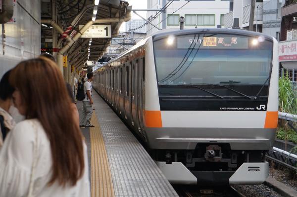 2017-08-07 中央線E233系トタH59編成 各駅停車高尾行き