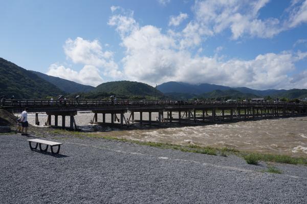 2017-08-08 渡月橋