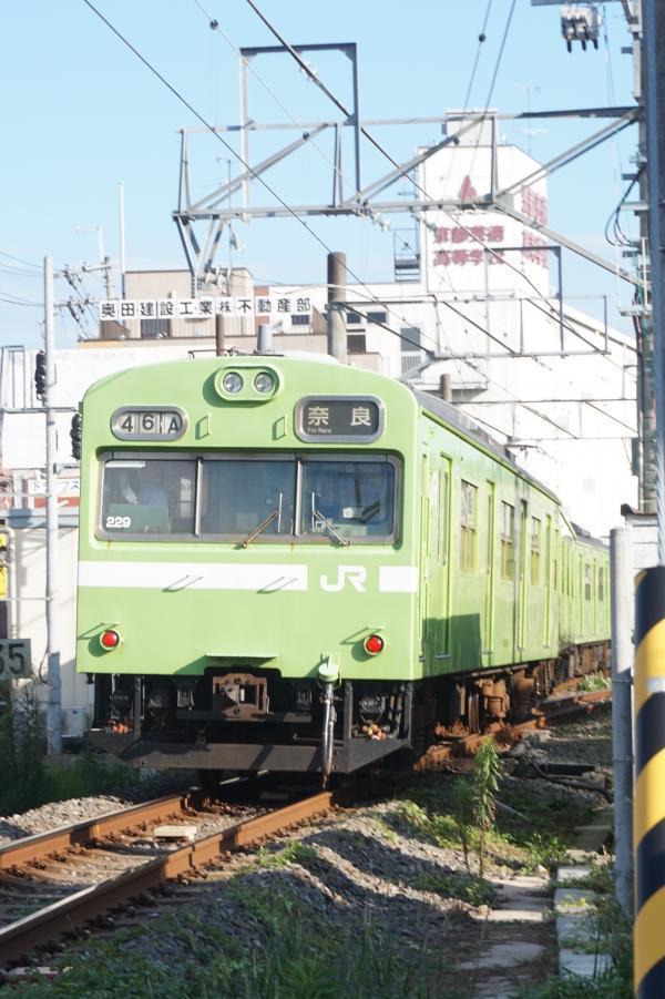 2017-08-08 奈良線103系 奈良行き