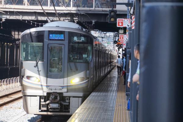 2017-08-09 225系 新快速長浜行き