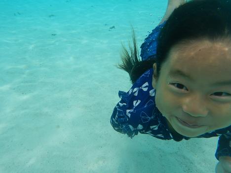 宮古島 海 素潜り 潜水