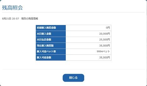 残高照会(17.08.21)
