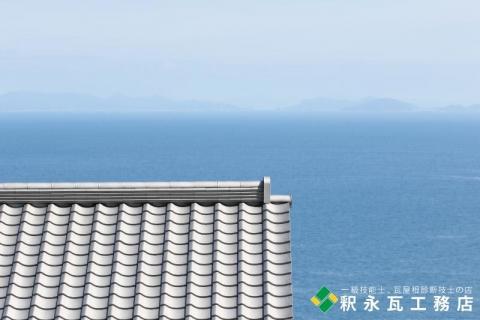 いぶし瓦寺-瀬戸内海-005