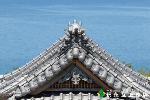 いぶし瓦寺-瀬戸内海-006