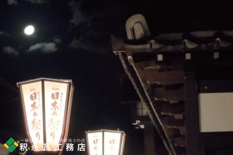 おわら風の盆 瓦のある日本の風景 富山市八尾諏訪町4