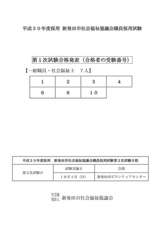 H30第一次試験結果2