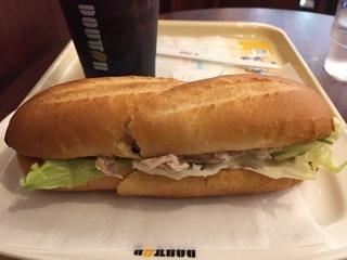 ミラノサンド 鹿児島県産黒豚と夏野菜ソース + アイスコーヒー(M)