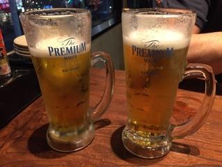生ビール (プレモル 香るエール)