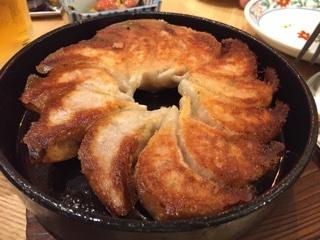 鉄鍋餃子(2人前)