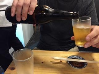 大瓶ビール(サッポロ 赤星)