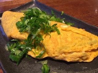 那須御養卵のオムレツ風卵焼き(ニラ)